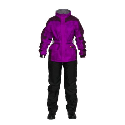 Дождевой комплект женский MadBull (фиолетово-черный) Pro