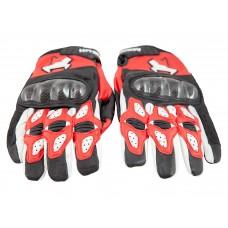 Перчатки летние MadBull A5 (красные)