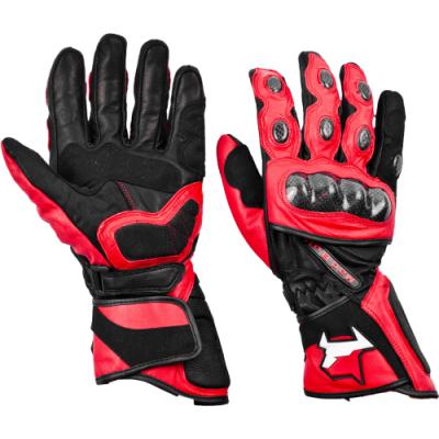 Перчатки рейсинговые MadBull R5 (красные)