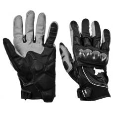 Перчатки летние MadBull S10K (черные)