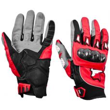 Перчатки летние MadBull S10K (красные)