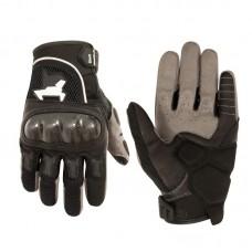Перчатки летние MadBull S10T (черные)