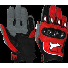 Перчатки летние MadBull S10T (красные)