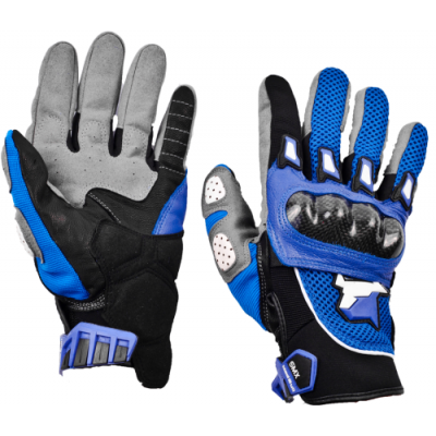 Перчатки летние MadBull S10T (синие)
